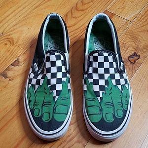 Marvel Van's Slip On Shoes